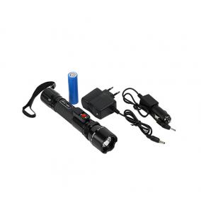 Lanterna cu electrosoc TW-318 cu acumulator schimbabil3