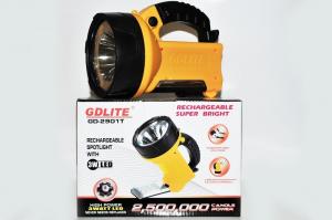 Lanterna reincarcabila cu bec halogen si acumulatori GDLITE GD-2901T [1]