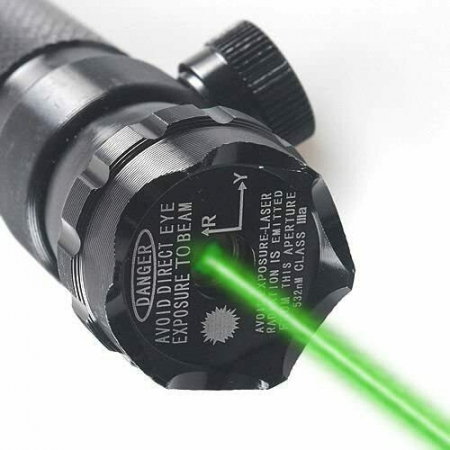 Laser pointer verde pentru arma,pistol airsoft cu prindere pe sina [1]