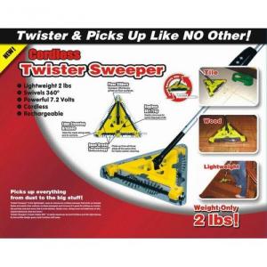 Matura electrica fara fir si cu acumulator Twister Sweeper4