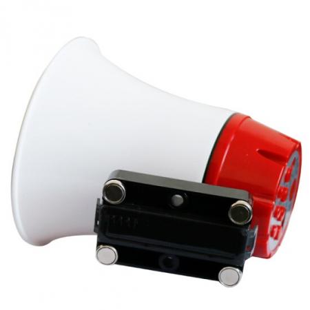 Portavoce megafon auto cu inregistrare si redare de pe USB, Voice player 15 Watti [2]