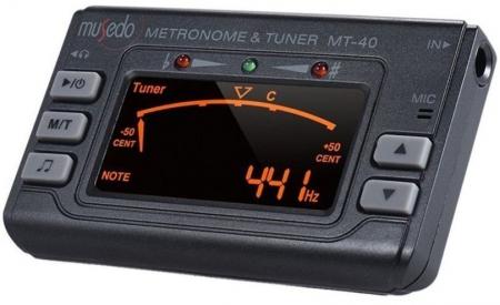 Metronom si Tuner acordor multifunctionale pentru chitara, Musedo MT40 [0]