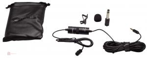 Microfon Omnidirectional Lavaliera Boya BY-M1 pentru camere foto si Smartphone0
