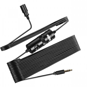 Microfon Omnidirectional Lavaliera Boya BY-M1 pentru camere foto si Smartphone3