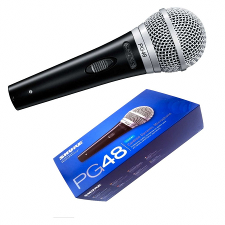 Microfon profesional voce, Shure PG48 Dinamic Cardioid [2]