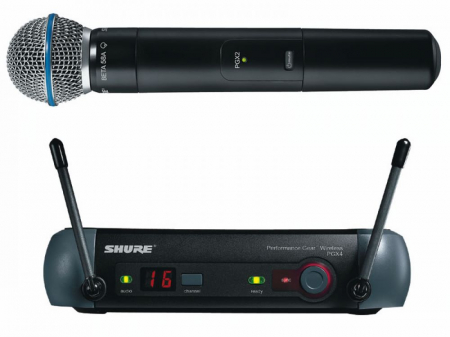 Microfon profesional wireless Shure PGX24E/BETA58-J6 [0]