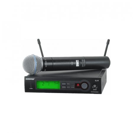 Microfon profesional wireless Shure SLX24/SM58 [0]