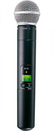 Microfon profesional wireless Shure SLX24/SM58 [1]