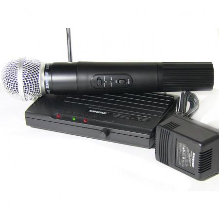Microfon profesional wireless Shure SH-200 VHF, modulare FM [0]