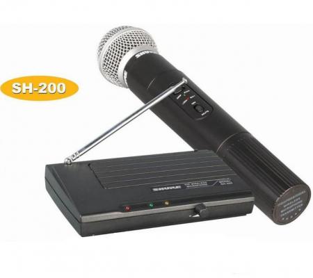 Microfon profesional wireless Shure SH-200 VHF, modulare FM [2]