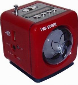 Mini boxa cu MP3 si Radio Player WS-908RL [0]