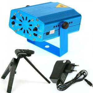 Mini proiector laser pentru interior holografic verde si rosu1