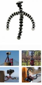 Mini trepied pentru camera foto compacte flexibil 0