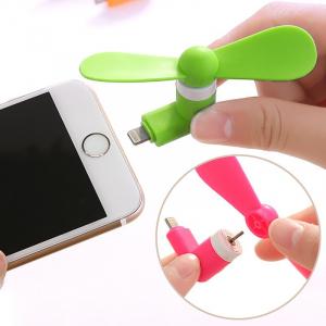 Mini ventilator portabil telefon iPhone 5/5S/6/6+/SE/ iPad1