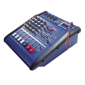 Mixer profesional cu amplificare 200W si 4 canale PMX402D-USB [0]