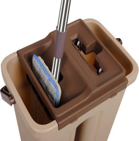 Mop profesional cu doua cuve de spalare si uscare + 3 rezerve cadou3