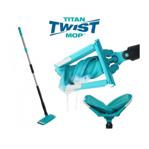 Mop manual cu microfibre super clean Titan Twist Mop0
