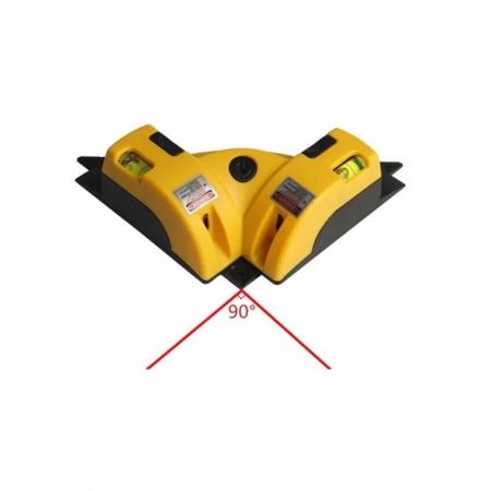 Nivela cu laser pentru colturi si unghi 90 de grade, LV-01 [4]