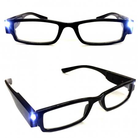Ochelari pentru citit dotati cu 2 LEDuri si dioptrii +2.00,Multi Strength [2]
