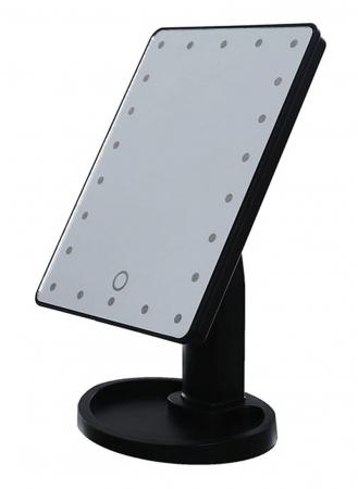Oglinda cosmetica iluminata cu 22 LED Make Up touch0