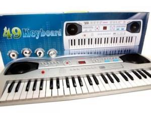 Orga electronica 49 clape si microfon inclus SD49020