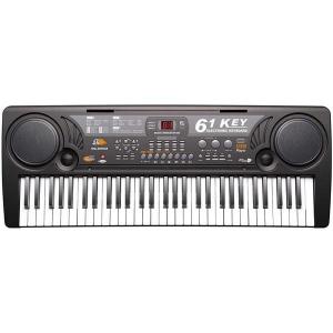 Orga electronica 61 de clape MQ-809 cu microfon si citire USB / MP30