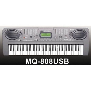 Orga electronica cu 54 clape MQ-808USB cu microfon si citire USB/MP30
