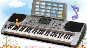 Orga electronica cu 61 de clape citire usb mp3 si bluetooth XY-6130