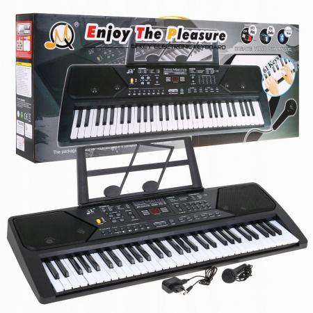 Orga electronica 61 clape MQ-600UFB, cu display, Bluetooth, microfon, Radio Fm, USB MP3 player [1]