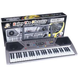 Orga electronica MQ-001UF, USB, 61 clape, microfon inclus [0]