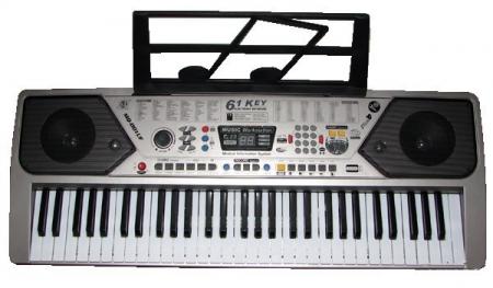 Orga electronica MQ-001UF, USB, 61 clape, microfon inclus [2]