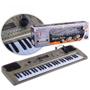 Orga electronica cu 54 clape MQ-807USB si boxe, microfon,Usb Stick Mp3 Player3