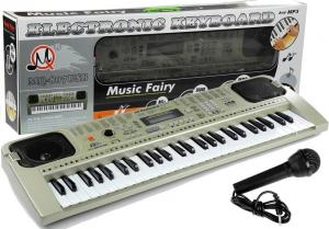 Orga electronica cu 54 clape MQ-807USB si boxe, microfon,Usb Stick Mp3 Player4