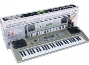 Orga electronica cu 54 clape MQ-807USB si boxe, microfon,Usb Stick Mp3 Player1