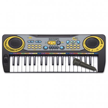 Orga electronica pentru copii Bontempi,cu 37 de clape si microfon inclus [0]