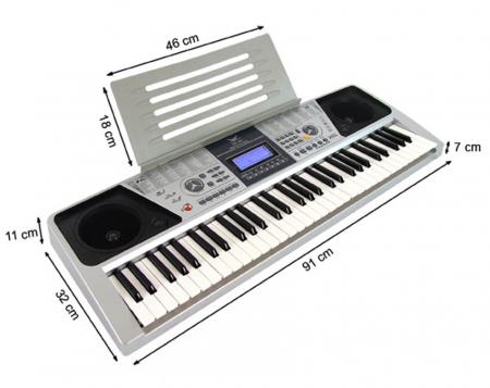 Orga electronica profesionala cu 61 de clape si 5 octave,Angelet XTS 6612