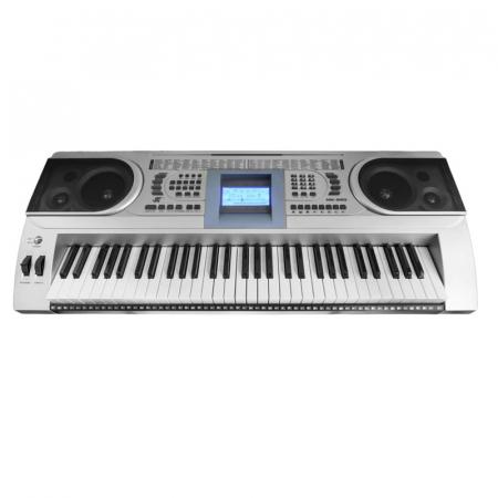 Orga electronica semiprofesionala cu 61 de clape MK-920,LCD, 100 timbre, 100 ritmuri, 6 melodii demo, boxe incorporate [0]