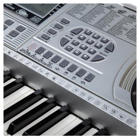 Orga profesionala electronica XY-335, 61 clape cu port USB MP3 Player si interfata Midi1