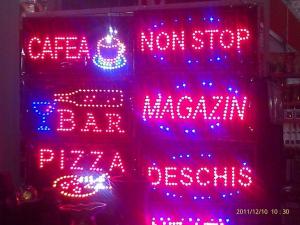 Panou luminos cu leduri  Pizza0