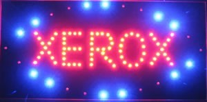 Panou luminos cu leduri - Xerox0