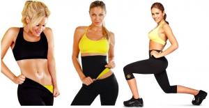 Pantaloni fitness de slabit Hot Shapers1
