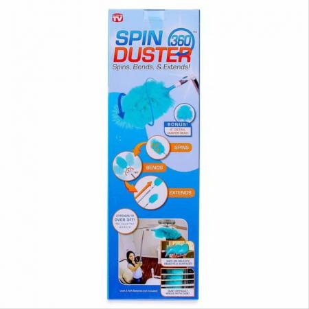 Perie cu functie de stergator rotativ pentru praf Spin Duster 360 [1]