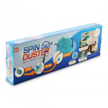 Perie cu functie de stergator rotativ pentru praf Spin Duster 360 [3]