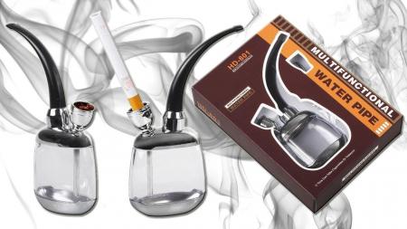 Pipa pentru fumat multifunctionala cu apa4