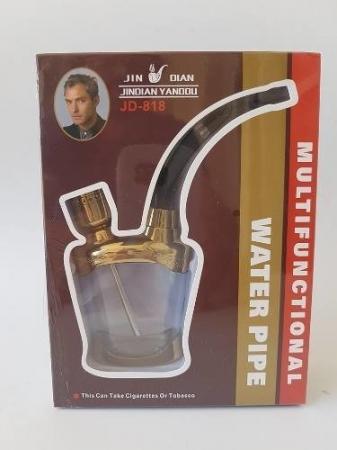 Pipa pentru fumat multifunctionala cu apa0