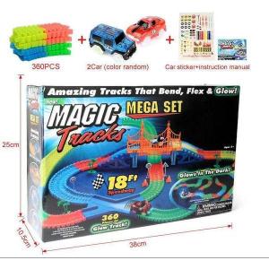 Pista luminoasa Magic Tracks 360 piese magic tracks - pistă de curse iluminată [0]