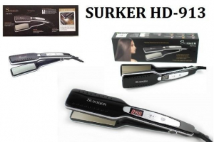 Placa pentru par din ceramica cu display LCD Surker HD-913 [0]