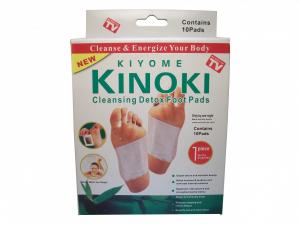 Plasturi detoxifianti pentru talpi, 10 bucati, Kiyome Kinoky [0]