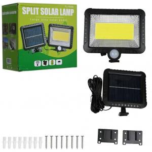 Proiector 10W COB LED cu senzor de miscare si panou solar individual1