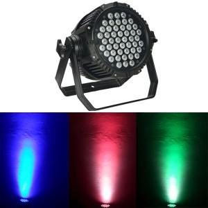 Proiector de lumini cu leduri PAR 54 RGB 3W [0]